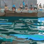 La pêche à la daurade