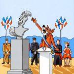 le renard et le buste