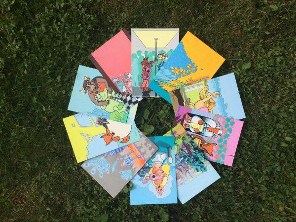 10 cartes fabulistes