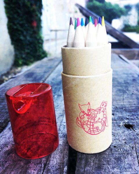 Étui 12 crayons de couleurs Monde fabuleux